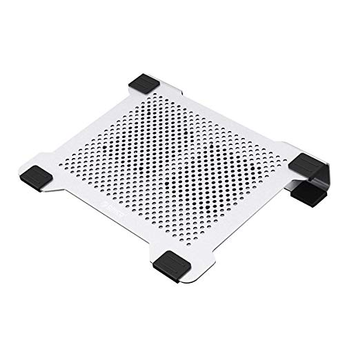 Orico Aluminium Laptop Cooling Pad Stand Potable Cooler Pad with 2 Movable Quiet Fans for 11-15 Inch Macbook and Laptops