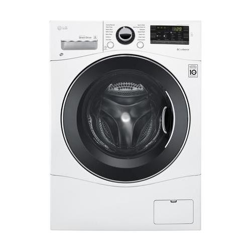 LG WM3488HW 24' Washer/Dryer Combo with 2.3 cu. ft. Capacity,...
