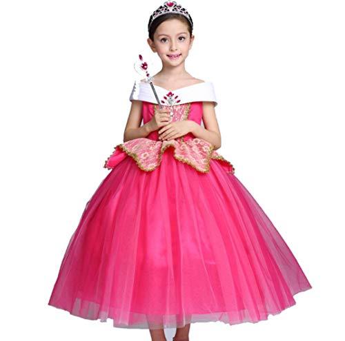 SMACO meisjes prinses Aurora jurk kinderen Halloweenkostuum Cosplay Halloween Birthday party jurk kostuum