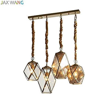 5151BuyWorld Lámpara Americana LED Luces Pendientes De Calidad Superior Moderno Simple Restaurante Bar LED Lámparas Colgantes