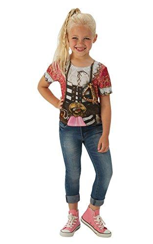 Rubie's officiële piraat meisje T-Shirt boek week kind kostuum
