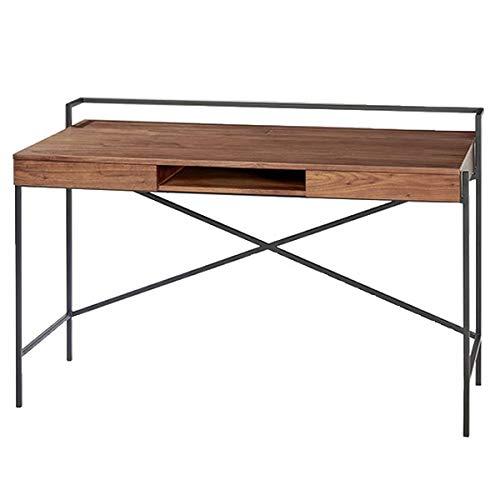 Lambert - Derrick - Schreibtisch - Walnußfurnier - Braun - Maße (LxBxH): 125 x 63 x 80,5 cm