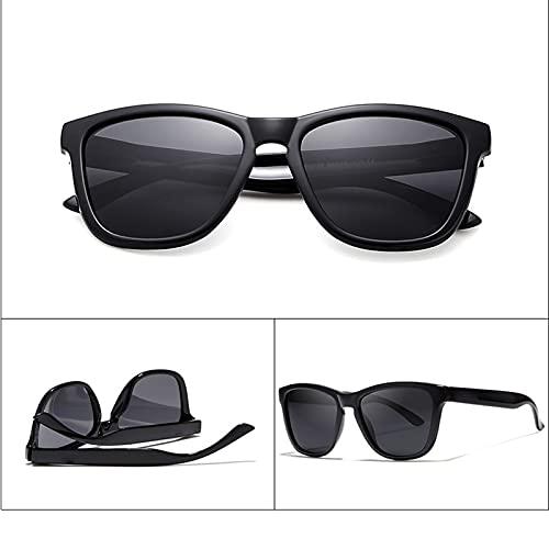 Amethyst Gafas de Sol para Hombres y Mujeres, protección UV400 polarizada, Marco liviano, es Adecuado para Comprar Gafas Deportivas para Conducir en Bicicleta,B