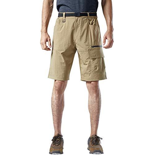 DONNU Pantalones Cortos De Secado RáPido EláSticos De Gran TamañO para Hombres Pantalones Cortos Deportivos De Secado RáPido para Escalada Veraniega