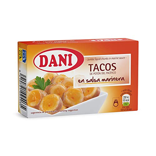 Dani - Potón del Pacífico (tacos) en salsa marinera - 12 x 106 gr.