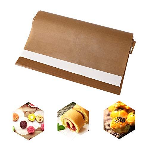 LATTCURE 3 Stück 40 x 60cm Premium Dauerbackfolie Backpapier Backen Backfolie, Backunterlage Backmatte, antihaftbeschichtet wiederverwendbar und nachhaltig hitzebeständig und spülmaschinenfest