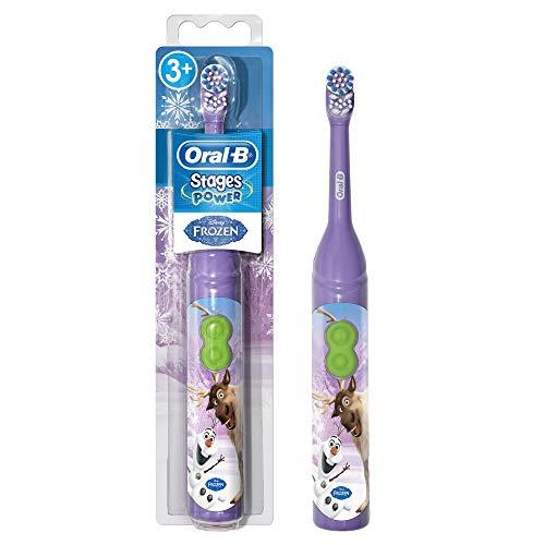 Oral-B Stufen Power Kids Batterie Zahnbürste Kinder 3+ Jahre Disney FROZEN, Sortiert Modelle