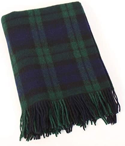 Biddy Murphy Irish Wool Max 60% OFF Blanket Knee 54 I Small Max 64% OFF Blackwatch Throw