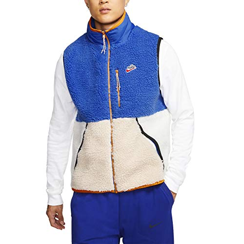 Nike Mens NSW Sherpa Fleece Winterized Vest CD3142-480 Size L