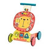labebe - Lauflernwagen Holz Mädchen, Gehhilfe Baby Lauflernhilfe, Gehhilfe Holz Junge&Mädchen,...