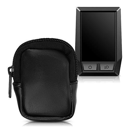 kwmobile Tasche kompatibel mit Bosch Kiox - E-Bike Computer Kunstleder Sleeve - Schutztasche Schwarz