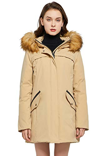 Orolay Women's Down Jacket with Removable...