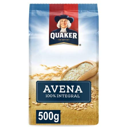 Copos de Avena 100% Integral 500g