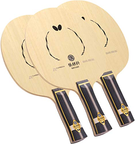 Butterfly Zhang Jike ZLC Table Tennis Blade - Professional Table Tennis Blade - ZL Carbon Fiber Blade - Available in an, FL, and ST Handle Styles - Made in Japan