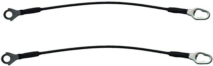 Pair of Truck Pickup Tailgate Liftgate Cable Replacement for 93-11 Ford Ranger Mazda B23000 B4000 B300