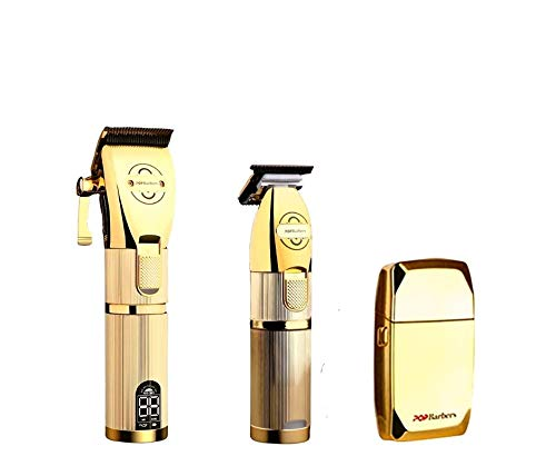 P800 POP BARBERS PRO HAIR CLIPPERS KIT + Cordless Close Cutting Hair Clippers for Barbers Men Women