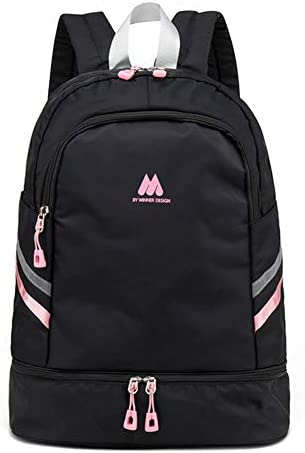 Women Sports Backpack Gym Bag with Shoe Compartment Wet Pocket Travel Backpacks Anti Theft Pocket product image