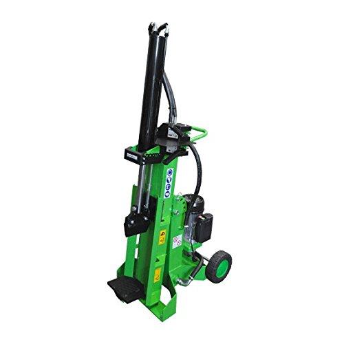 Forest SF105 Duo E - Cortador eléctrico para leña (9 toneladas, 220...