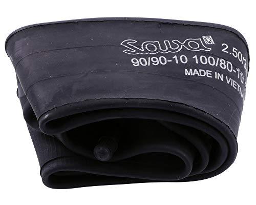 Tuyau pour pneumatiques 2,5/3/3 50–10 valve 90°