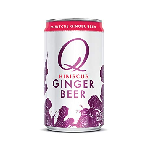 Q Hibiscus Ginger Beer, Premium Ginger Beer: Real...