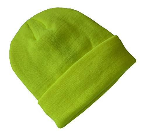 AR TACTICAL Wasserabweisende Wintermütze bis -30°C Kälte mit Thinsulate Innenfutter (Neon Gelb)