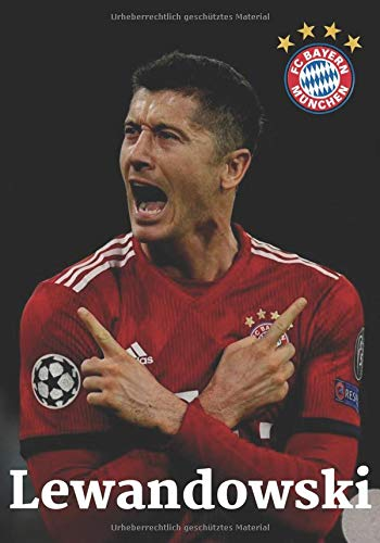 LEWANDOWSKI: Fußball-Notizbuch I Bayern München