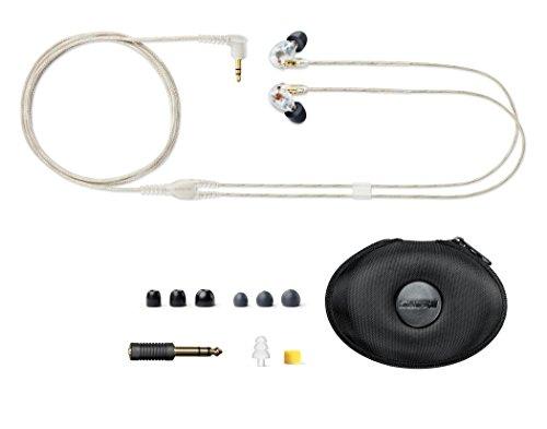 SHUREイヤホンSEシリーズSE425カナル型高遮音性クリアーSE425-CL-A【国内正規品】