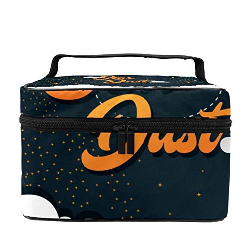 Stardust - Beauty case da donna, multifunzione, da viaggio, portatile, per pennelli da toeletta