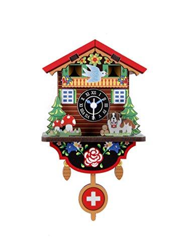 Kikkerland make your own Swiss House Clock (DIY) - kit per costruire il tuo proprio orologio svizzero