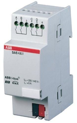 ABB SA/S2.16.1 EIB/KNX Schaltaktor, 16A, REG, 2-fach