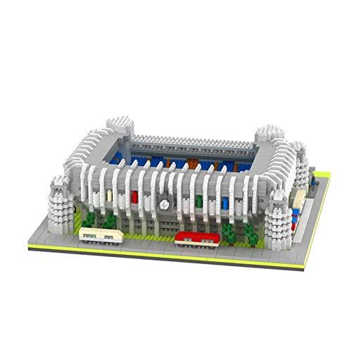 VSUK Bloque De Construcción, Bloque De Construcción Estadio De Fútbol Real Building Block Set 4500 + Pcs Nano Mini Blocks DIY Toys,3D Puzzle DIY Educational Toy Multicolor, Niños