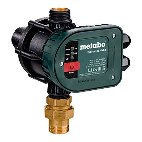 METABO Hydromat HM 3 - Elektronischer Druckschalter mit Trockenlaufschutz (628799000)