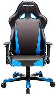 DXRacer Oh/TC29/NB DX Racer, T de Serie, depósito Serie,–Silla de Oficina giratoria, Piel sintética Negro de Color Azul