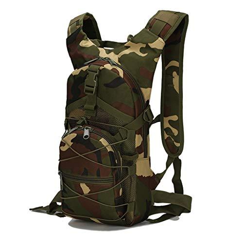 Mochila de camuflaje PING impermeable de menos de 20 l para deportes al aire libre, senderismo, camping, caza, viajes, ciclismo, hombres y mujeres, e, F