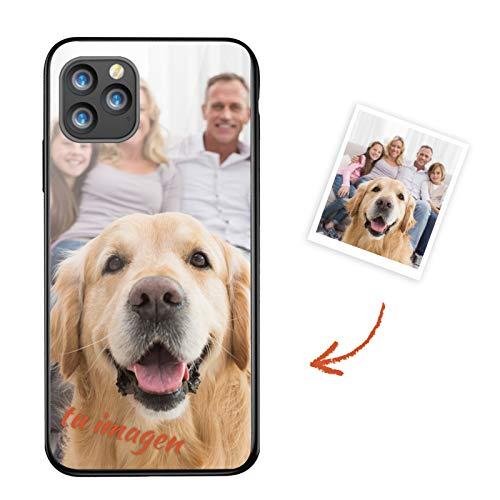 Suhctup Personalizzate Custodia Compatibile per Samsung Galaxy S5, AntiGraffio Vetro Temperato Antiurto Paraurti Rugged con Foto Immagine o Scritta, Personalizzare Cover