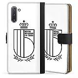 DeinDesign Étui Compatible avec Samsung Galaxy Note 10 Étui Folio Étui magnétique Belgique RBFA...