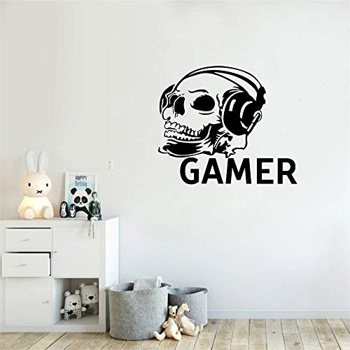 Hardcore Player Wall Stickers Home Vinyl Game Room Wall Decal
