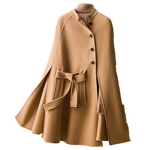N\P Abrigo de lana para mujer. camel M
