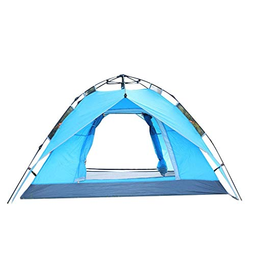 Waterproof Camping Tent, 3-4 People Two Person Camping Tent Backpacking Tents Automatic Outdoor Sports Tent Camping Sun Shelters