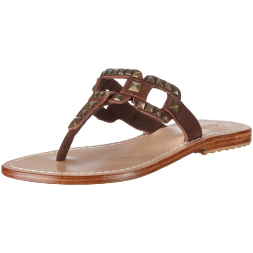 Mystique Damen Fashion-Sandalen, Braun/brown, 38 EU