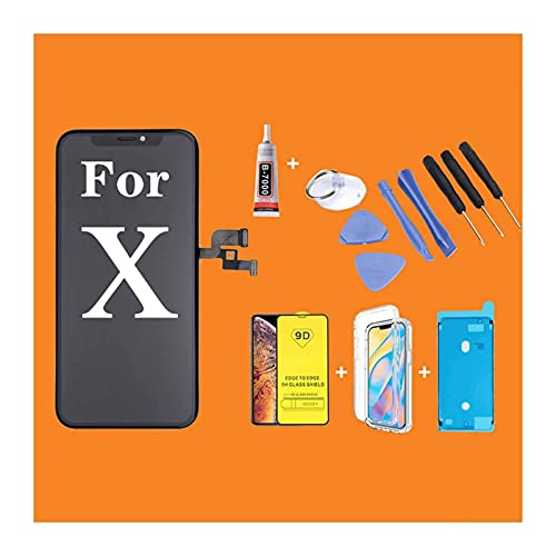 Phone Display Best OLED Display for I Phone X LCD Touch Screen Display Assembly with 3D Force Touch Replacement No Dead Pixel with Repair Tool (Color : for i 11 TFT) Mobile Phone Accessories