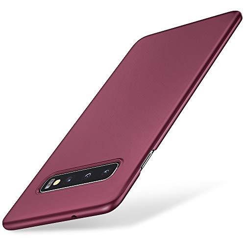 EIISSION Hülle Kompatibel mit Samsung Galaxy S10 Hülle, Hardcase Ultra Dünn Samsung Galaxy S10 Schutzhülle aus Hart-PC Hülle Cover Handyhülle für Samsung Galaxy S10- Lila
