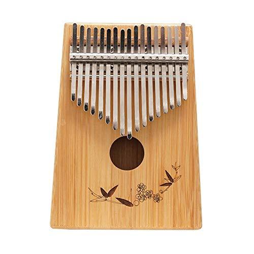 Daumenklavier Furnier Palisander/Phoebe/Mahagoni Kalimba 17 Keys Daumenklavier Multiple Choice Anfänger Klavier Musikinstrumente for Kinder Kinder Geschenk (Color : Wood1, Size : One Size)