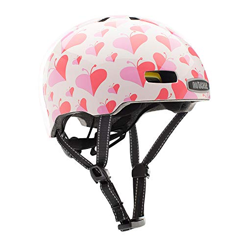 Nutcase Kinder Fahrradhelm Little Nutty MIPS Gloss, Love Bug, 48-52 cm, 10001