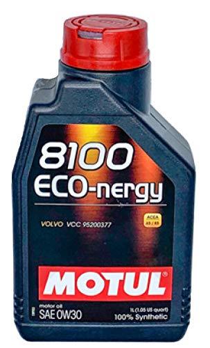Motul 8100 Eco-nergy 0W30 volledig synthetische motorolie Volvo VCC95200377, 1 liter