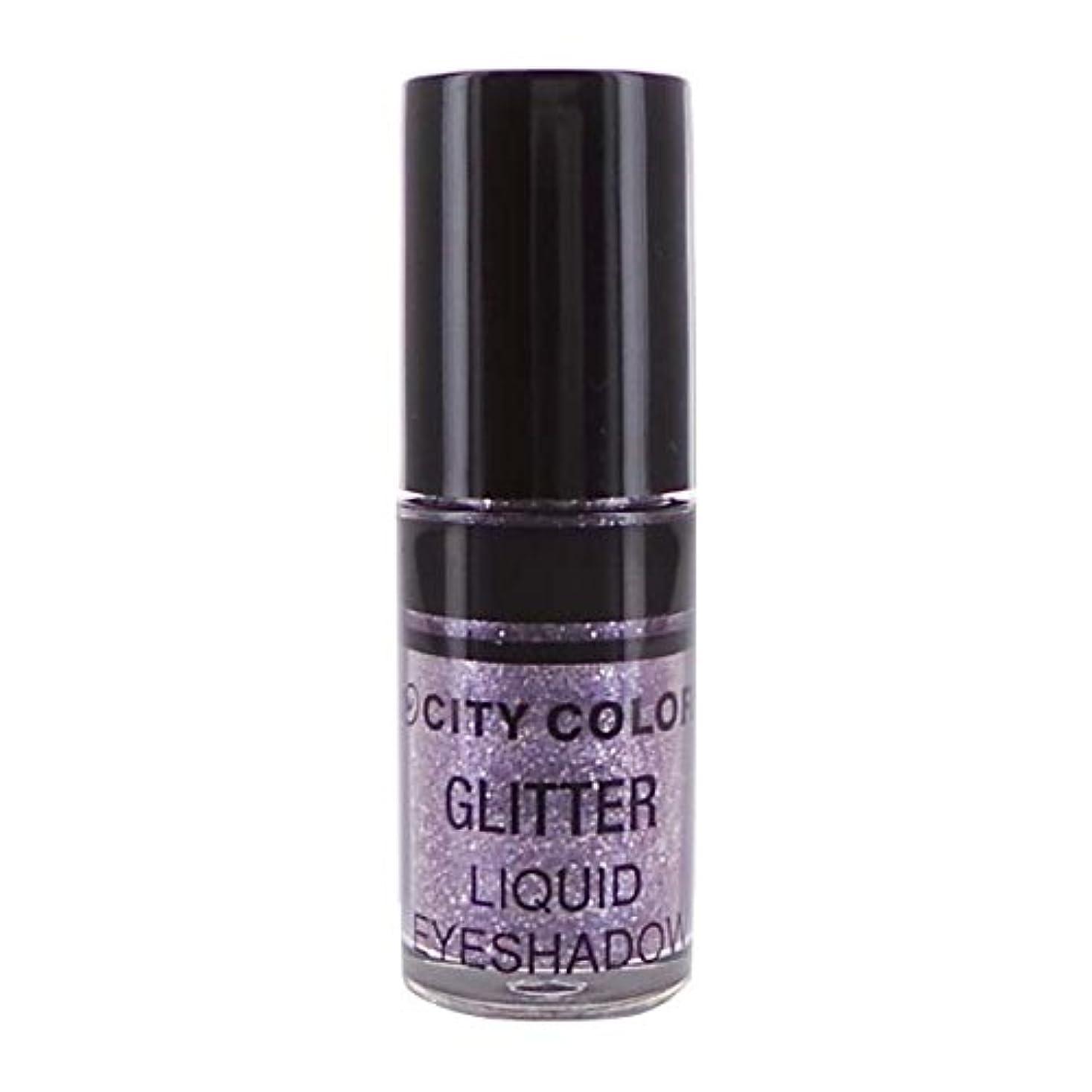 気になる参加者アダルトCITY COLOR Hi-Shine Glitter Liquid Shadow - Lilac (並行輸入品)