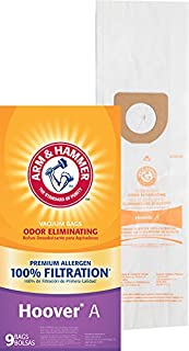 Arm & Hammer 63025A Hoover Type A Premium Vacuum Bag - 9 Pack