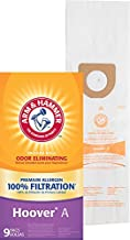 Arm & Hammer 63025A Hoover Type A Premium Vacuum Bag – 9 Pack