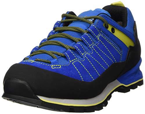 Jack Wolfskin Herren Scrambler XT Texapore Low M Walking-Schuh, Blue/Lime, 41 EU