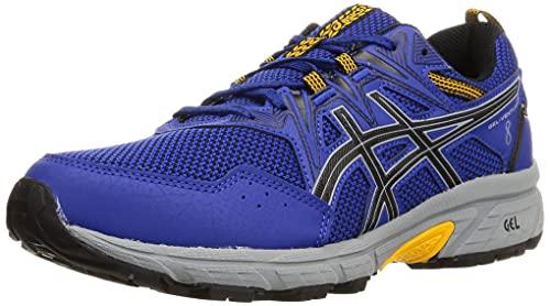 Asics Gel-Venture 8, Zapatillas para Correr Hombre, Monaco Blue/Black, 50.5 EU